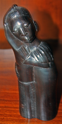 Sculpture of Native Couple